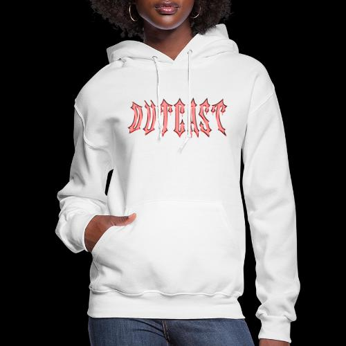 outcast mettalic red - Women's Hoodie