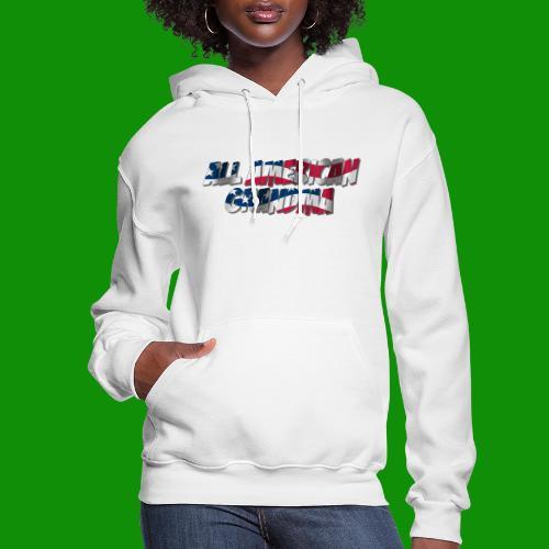 ALL AMERICAN GRANDMA - Women's Hoodie