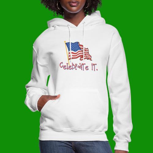 USA Celebrate It - Women's Hoodie