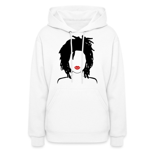 Locs & Lipstick Women's T-Shirts - Women's Hoodie