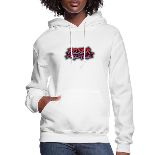Poser Palace Text - Women's Hoodie