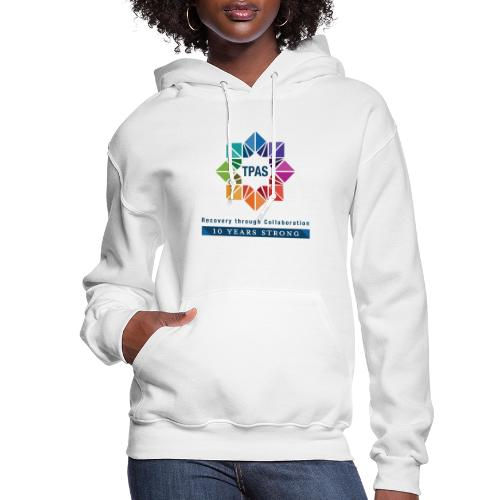 TPAS Color Stacked 10TH 5 13 TPAS OPTION A - Women's Hoodie