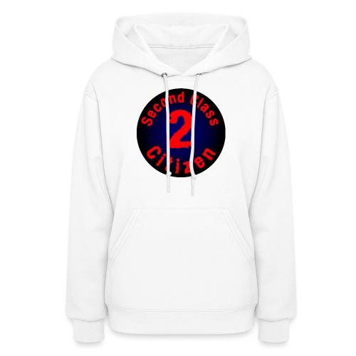 2nd Class Citizen Logo (Dark) - Women's Hoodie
