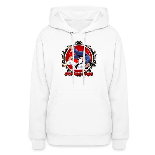 Judo Shirt Jiu Jitsu Shirt Throw Tomoe Nage - Women's Hoodie