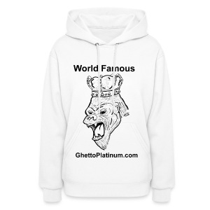 T-shirt-worldfamousForilla2tight - Women's Hoodie