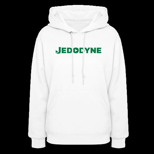 JEDODYNE CLASSIC GREEN TEXT - Women's Hoodie