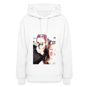 Luke Hemmings with a phone in his face - Women's Hoodie