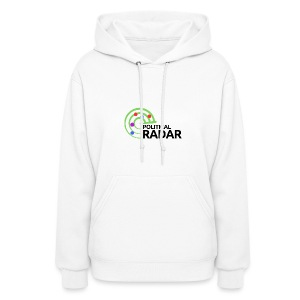 Political Radar Logo - Black - Women's Hoodie