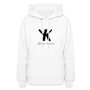 Young Kevino Official Logo (Black) - Women's Hoodie
