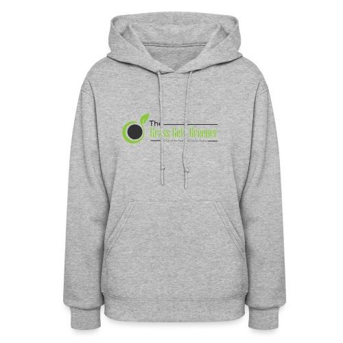 The Grass Gets Greener Logo w/ Text - Women's Hoodie