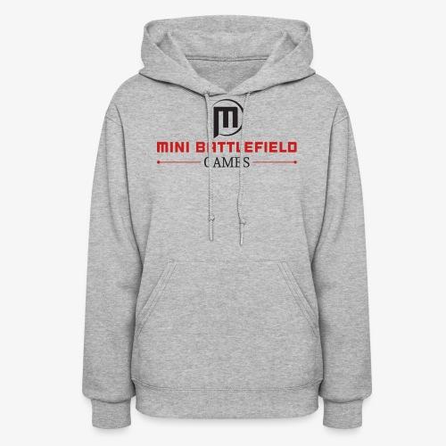 Mini Battlefield Games Logo - Women's Hoodie