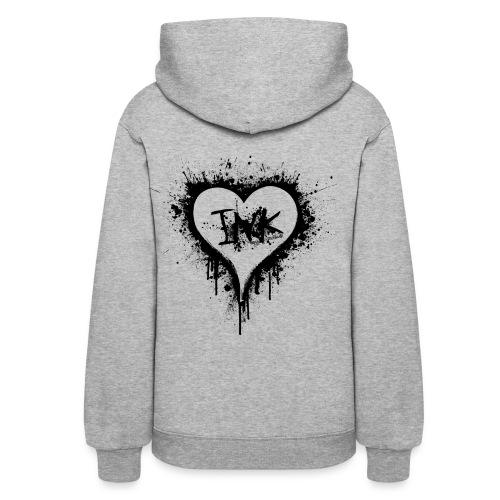 I Love Ink_black - Women's Hoodie