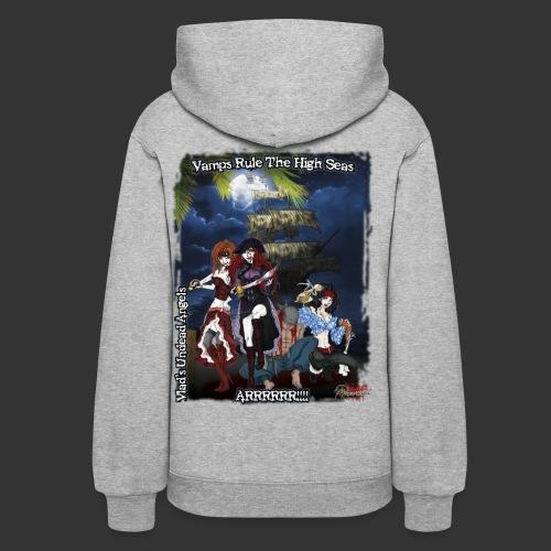 Vampire Pirates Full BG - Women's Hoodie