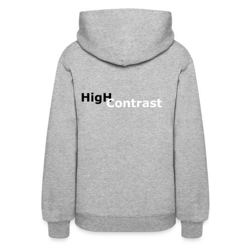 High Contrast - Women's Hoodie