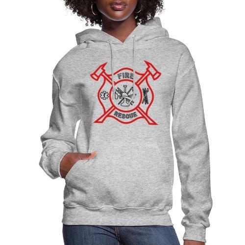 Fire Rescue - Women's Hoodie