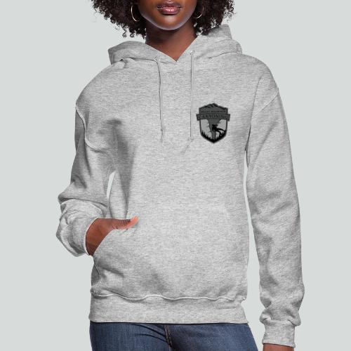 ROCKY MOUNTAIN CANYONING-on light back-2side-2logo - Women's Hoodie