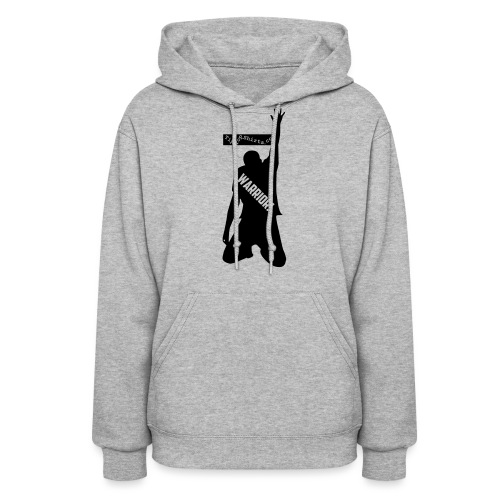 warrior shirt front - Women's Hoodie