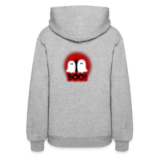 Ghosties Boo Happy Halloween 3 - Women's Hoodie