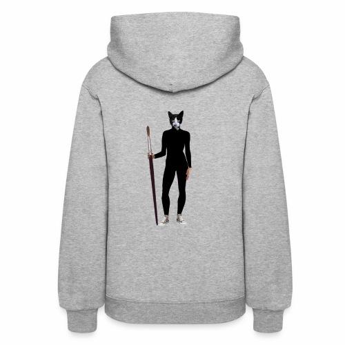 Cat Artist - Women's Hoodie