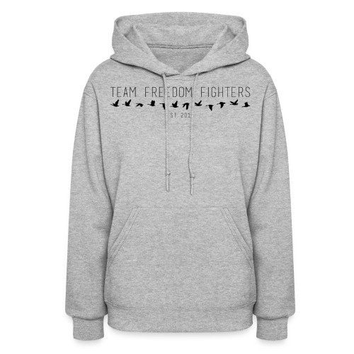 team freedom fighters log - Women's Hoodie