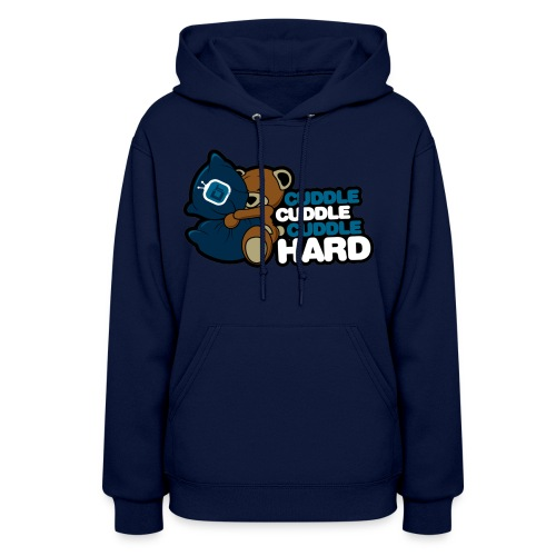 dtcuddle new2 copy - Women's Hoodie