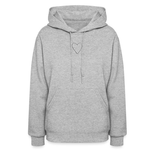 Heart Sweater and Tee - Women's Hoodie