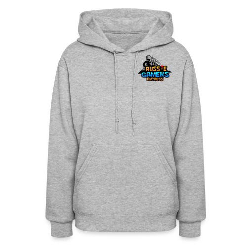 aussiegamers01CROPPED png - Women's Hoodie