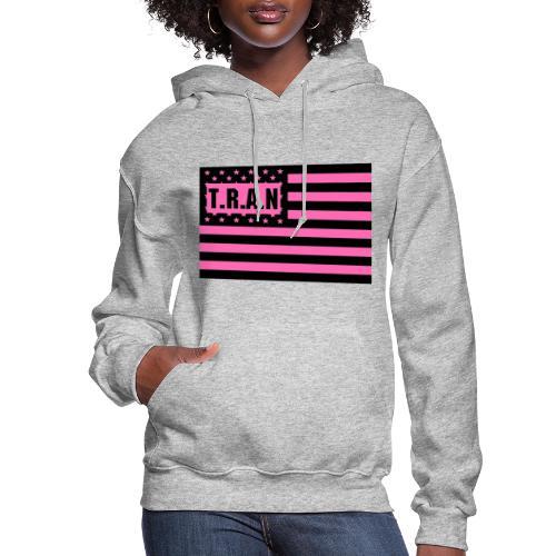 TRAN Logo Women s jpg - Women's Hoodie
