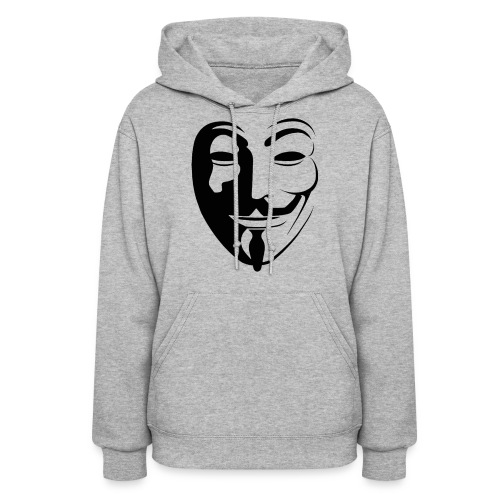 Anonymous Round Face gif - Women's Hoodie