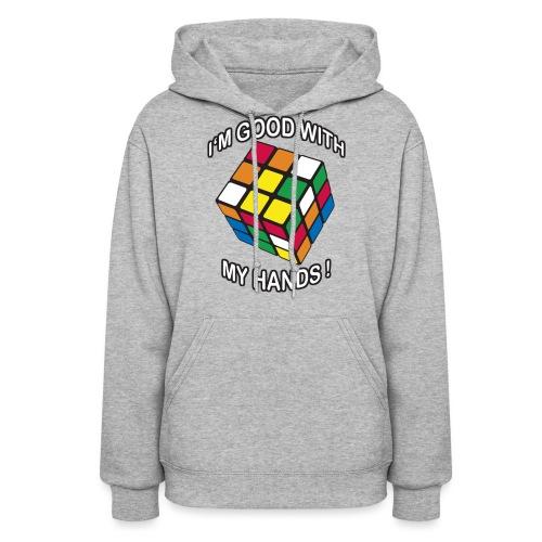 Rubik's Cube Good With My Hands - Women's Hoodie