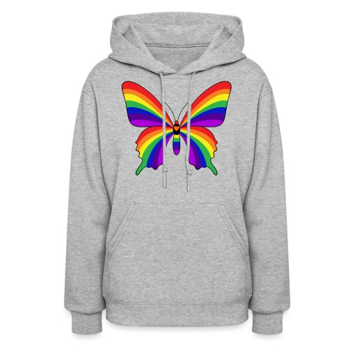 Rainbow Butterfly - Women's Hoodie