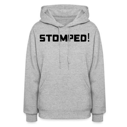 STOMPED black - Women's Hoodie