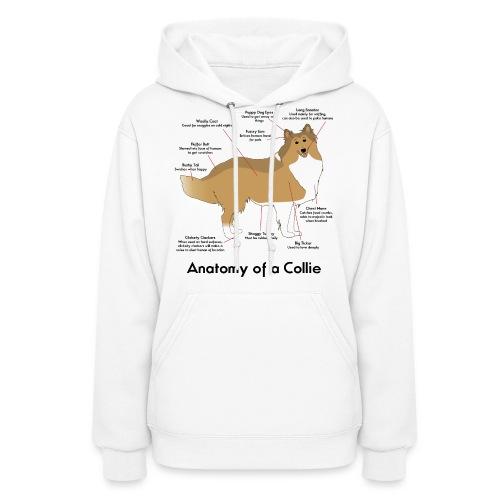 Anatomy of a Collie - Women's Hoodie
