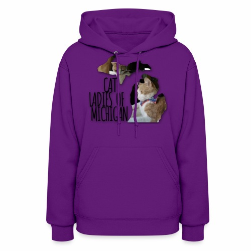 Cat Ladies of Michigan - Women's Hoodie