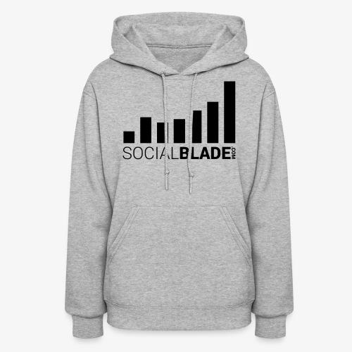 Socialblade (Dark) - Women's Hoodie