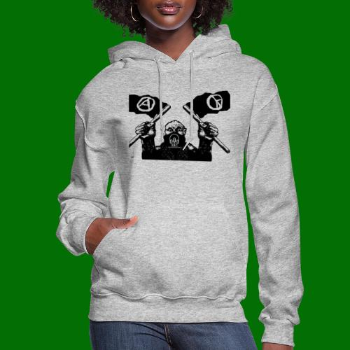anarchy and peace - Women's Hoodie