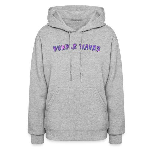 Purple Waves - Women's Hoodie
