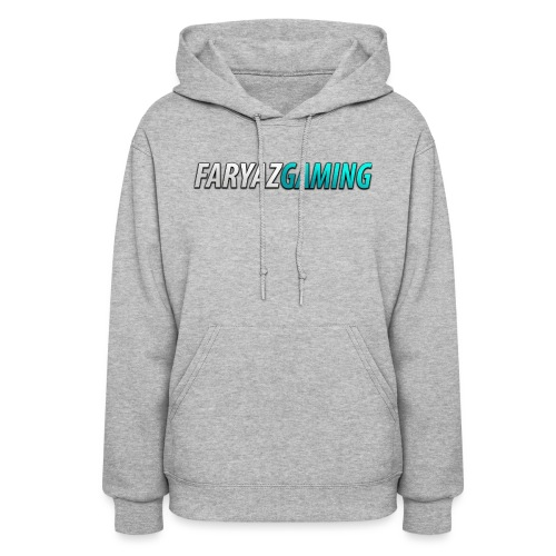 FaryazGaming Theme Text - Women's Hoodie