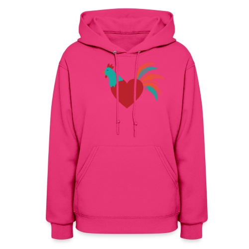 Chicken Heart - Women's Hoodie