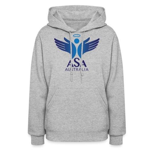 3459 Angelman Logo AUSTRALIA FA CMYK - Women's Hoodie