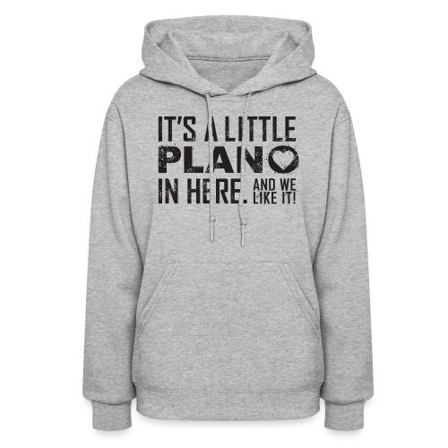 its a little plano tee - Women's Hoodie