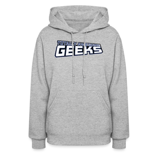 Logo For Totally Awesome Geeks - Women's Hoodie