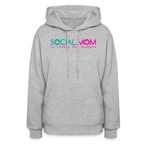 Social.mom logo français - Women's Hoodie