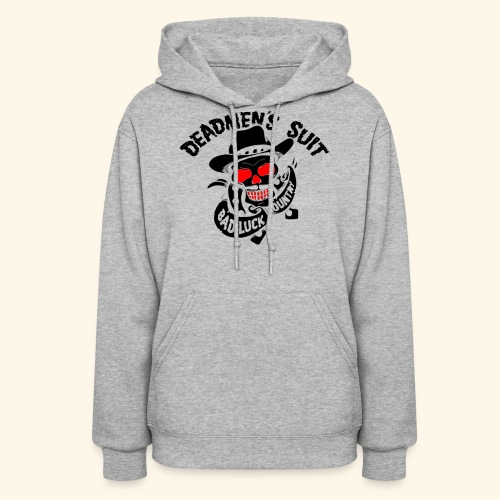 Deadmen's Suit Bad Luck#Skull - Women's Hoodie