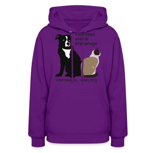 Dog and Cat - Women's Hoodie
