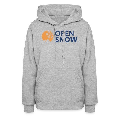 OpenSnow Horizontal Logo - Women's Hoodie