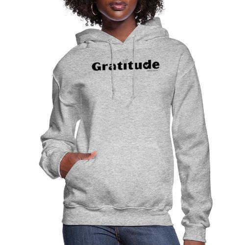 Gratitude - Women's Hoodie