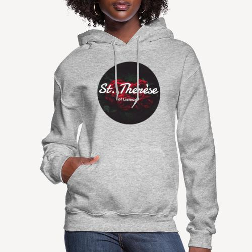 St Therese of Lisieux - Women's Hoodie