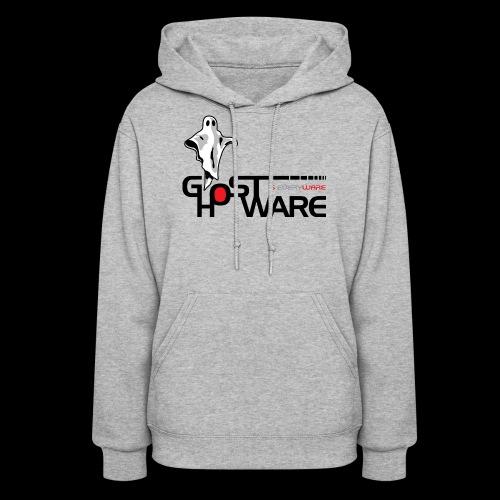 Ghostware Wide Logo - Women's Hoodie