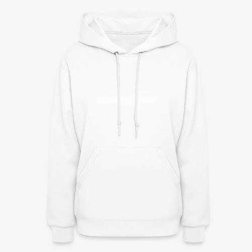 White logo - Women's Hoodie